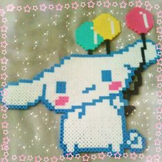 Cinnamoroll perler beads by electricbitchtits