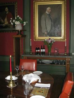 Dining at Learney House