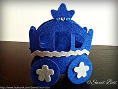 Cinderella Carriage favor box gift box