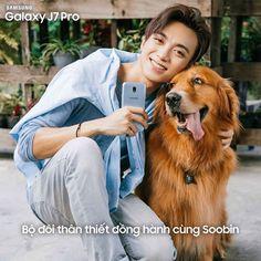 """Bạn thân có thể không có, nhưng J7 Pro thì phải có 1 """"em"""". Soobin luôn mang theo J7 Pro mới để có thể ghi lại mọi khoảnh khắc đáng nhớ nhờ vào camera siêu đỉnh F1.7 Bạn đã sở hữu chưa?  ——————— Galaxy J7 Pro: 6,990,000đ - trả góp 0% Tìm hiểu thêm tại http://spr.ly/Galaxy-J7-Pro"""