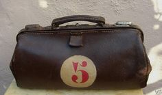 !920's French Postman's Bag