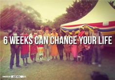 look for AIESEC near you to see how you can do this!