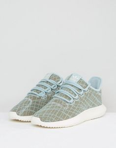 78495e5be9cd93 adidas Tubular Shadow Sneakers In Sage Green - Green Adidas Tubular Shadow