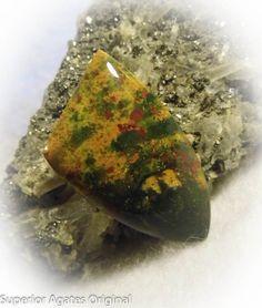 Fancy Blood Stone Free Form Hand Cut Stone Rock by superioragates, $12.00