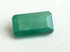 Emerald Rectangle Cut Stone Natural Loose Emerald by gemsforjewels