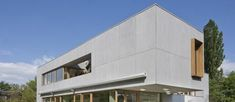 TECTIVA - Sheet cladding / fiber cement / matte by Eternit Fibre Cement Cladding, Metal Cladding, Cement House, Painting Cement, House Cladding, Narrow House, Exterior Siding, Architecture Design, Outdoor Structures