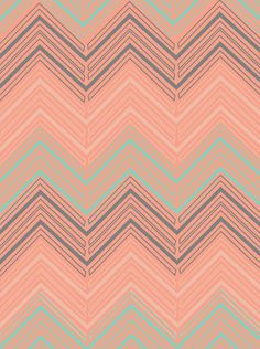 'Soft Chevron' - The Velvet Owl Design Studio