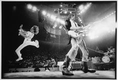 #TheRollingStones, Philadelphia, 1975. Photo by #AnnieLeibovitz