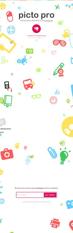 Pictopro - professionally crafted vector icons