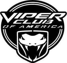 Viper Clup of America Logo - DXF Cut Ready CNC Designs - DXFforCNC.com