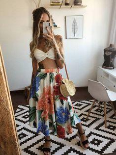 Women's Fashion Tips .Women's Fashion Tips Indie Fashion, Cute Fashion, Girl Fashion, Fashion Looks, Fashion Outfits, Womens Fashion, Moda Fashion, Fashion Tips, Tropical Outfit