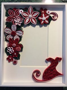 Go Red for Women Quilled frame