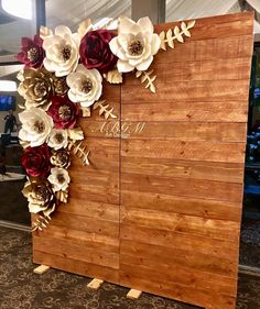 Image may contain: 1 person Sweet 16 Decorations, Quince Decorations, Quinceanera Decorations, Wedding Stage Decorations, Paper Flower Wall, Flower Wall Decor, Paper Flower Backdrop Wedding, Giant Flowers, Backdrops For Parties