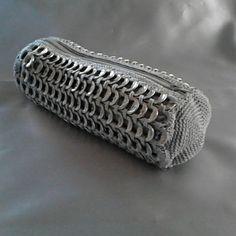 #anillasdelata #tejido #poptabs #crochet #sodatab #hechoconamor #reuse #madewithlove #hechoamano #pulltabs #reciclaje #recycle #craft #artesanía #aluminio #purse #aluminium #diy #handmade