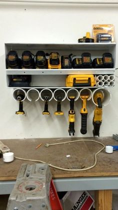 DIY Garage Storage- CLICK THE PIC for Many Garage Storage Ideas. 87993787 #garage #garageorganization