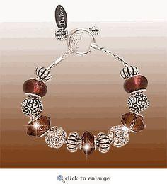 Mulberry Wine Bead Bracelet Pandora Like Bracelets Jewellery Beading Jewelry Wire