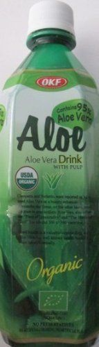 Trader Joe's Aloe Vera Drink with Pulp...4...16.9 oz bottles...Organic by OKF. $19.99. If there was ever one plant on earth that is the most valuable to humans it is without a doubt Aloe Vera.  Aloe Vera is known to have 74 remarkable nutrients.  And this drink, which includes Aloe Vera gel, tastes delicious and is refreshing and enjoyable to drink.  Did you know that as early as 1500 BC the ancient Egyptians recorded the use of Aloe Vera in treating burns and infections?