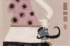 Ilustración textil.  Valeria Gallo