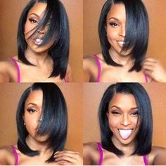 Natural Hairline Short Human Hair Lace Front Wig Yaki Straight Malaysia Hair Bob Lace Wig With Baby Hair For Black Wome