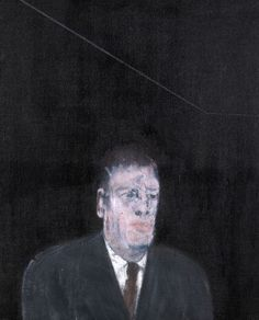 FRANCIS BACON  Study for a portrait  oil on canvas  66.6 by 54cm.; 26 1/4 by 21 1/4 in.  Executed in 1954    jpg (750×928)