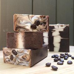Triple Shot Coffee Soap by Small Batch Soaps