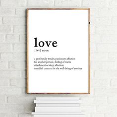 Love Song Lyrics Quotes, Coffee Wall Art, Definition Of Love, Love Posters, Love Wall, Meaning Of Love, Core Values, Frame It, Poster Wall