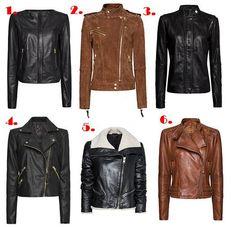 MANGO - Biker jackets  1. ref.73108157  2. ref.73108162   3. ref.73108155  4. ref.73103358   5. ref.73108154  6. ref.73105157