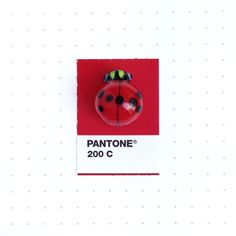 Pantone 200 color match. A dear friend of mine asked me to find the color match for her glass ladybug. For many, it's a symbol of good...