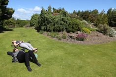 Napping on the lawn at Royal Botanic Gardens Edinburgh Scotland; Sunshine, Summer, Spring, Nature, Photography, Canon, EOS, 6D, Sunbathing, Sleep,