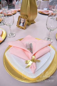 Pink and gold birthday party decorations princess theme 42 Top ideas Pink And Gold Birthday Party, Birthday Ideas For Her, 32 Birthday, Ball Birthday Parties, Birthday Party Decorations, Gold Party, Birthday Cakes, Princess Theme Party, Princess Birthday