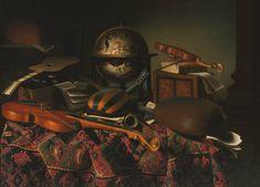 Bartolomeo_Bettera_-_Still_Life_with_Musical_Instruments_.jpg (1536×1106)