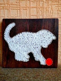 Cadena arte pared decoración personalizada cadena cadena Cat