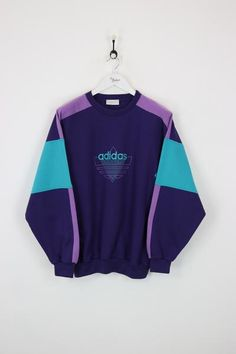 Adidas Sweatshirt Purple XL