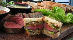 Get this quick and easy steak sandwich recipe from Gordon Ramsay's Ultimate Cookery Course.