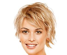 Short Hairstyles for Rounds Face Girls - Hairstyles for Women