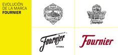 Evolución de la marca Fournier #Litografía #Branding #Logo #Naming #Historia #Cartas #Naipes