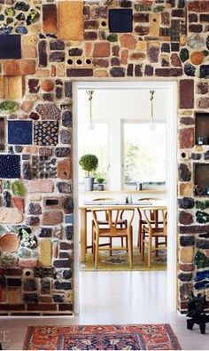 diy indoor brick wall. think kitchen /fireplace /front foyer. also use as coverage for small area on floor