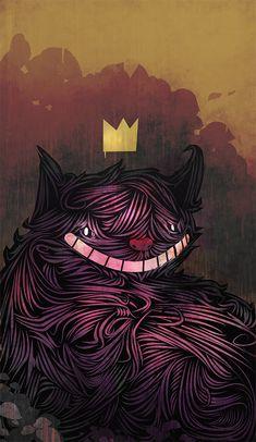 Cheshire Cat  by ~Qikalain