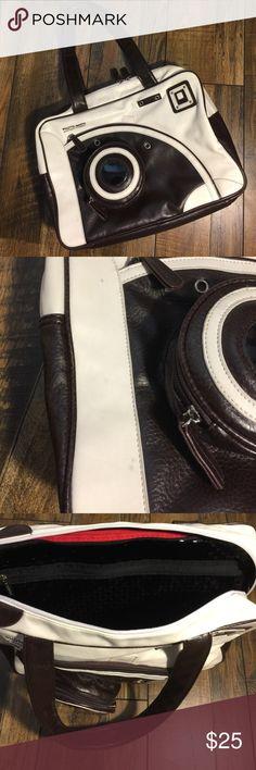 Selling this Photo-matic Camera Tote on Poshmark! My username is: denisehenson. #shopmycloset #poshmark #fashion #shopping #style #forsale #Photo-matic #Handbags