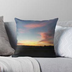 Above The Clouds, Sunset Sky, Designer Throw Pillows, Beautiful Sunset, Photographic Prints, Pillow Design, Top Artists, Framed Art Prints, Baby Blue