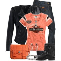 """Harley"" by jennifernoriega on Polyvore"