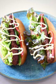 Vegan Chorizo Hot Dogs (GF)