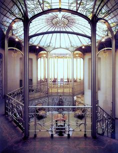 Hôtel Tassel is a town house built by Victor Horta in Brussels for the Belgian scientist and professor Emile Tassel