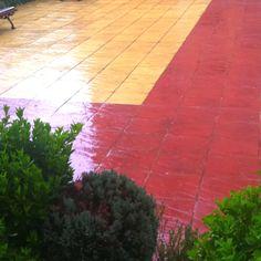 Por fin la lluvia.