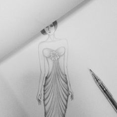 #1 Fashion sketches by santira