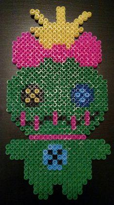 Scrump Perler Bead - Made with love Perler Bead Templates, Diy Perler Beads, Perler Bead Art, Pearler Beads, Fuse Beads, Melty Bead Patterns, Pearler Bead Patterns, Perler Patterns, Beading Patterns