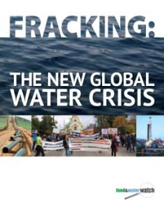 Check out Food & Water Watch's report on global fracking and response from France, Bulgaria, Poland, South Africa, China and Argentina.