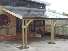 The Wickham Classroom Enclosed Shelter - Outdoor Places