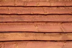 Wood Siding used in Construction of a Shed