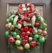 Lime green and red Christmas Decorations - Bing Images